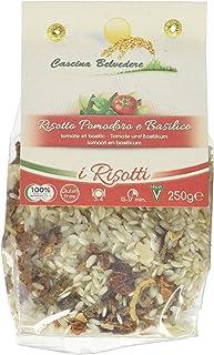 Cascina Belvedere Risotto mit Tomate-Basilikum, 2er Pack 2 x 250 g