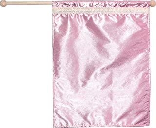 Small Pink Flag, Dance, Praise Worship Church Flag Banner, Child Size