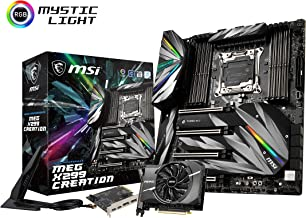 MSI Motherboards MEG X299 Creation