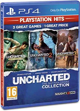 Uncharted Collection PlayStation Hits (PS4)