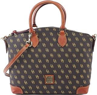 Gretta DB Signature Satchel Shoulder Bag Purse Handbag