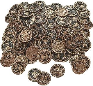 Fun Express - Pirate Coin (144pc) - Toys - Value Toys - Play Money - 144 Pieces