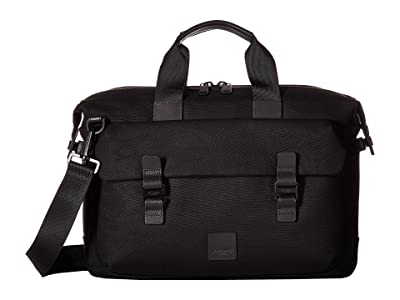 KNOMO London Fulham Tournay Topload Brief (Black) Briefcase Bags
