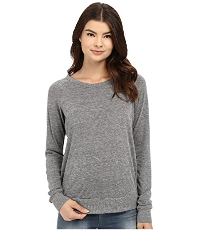 Alternative Heather Slouchy Pullover (Eco Grey) Women