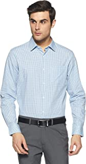 Diverse Men's Checkered Regular Fit Formal Shirt