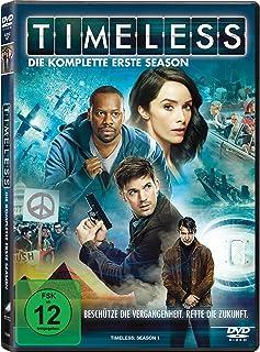 Timeless - Die komplette erste Season 4 DVDs