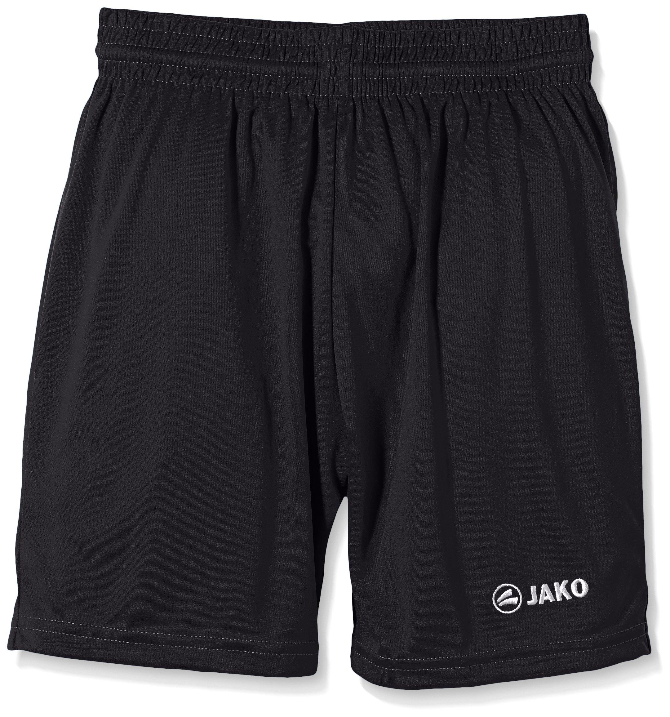 Jako Kinder Sporthose Manchester Shorts, Schwarz, 5-6 Jahre (Herstellergröße: