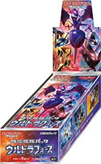 Pokemon Card Game Sun & Moon Strength Expansion Pack Ultra Force Box Japanese Ver.