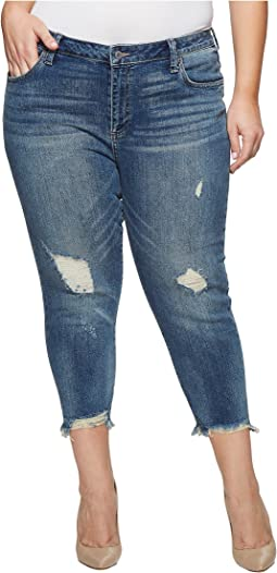 Plus Size Reese Boyfriend Jeans in Beach Drive