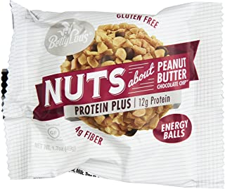 Betty Lou's Protein Plus Peanut Butter Choc. Chip 1.7oz Protein Balls - 12 Count Box