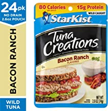 StarKist Tuna Creations Bacon Ranch - 2.6 oz Pouch (Pack of 24) (Packaging May Vary)