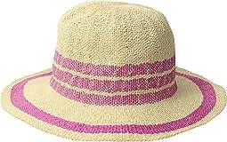 San Diego Hat Company - PBF7311OS Fedora w/ Pop Color Stripes