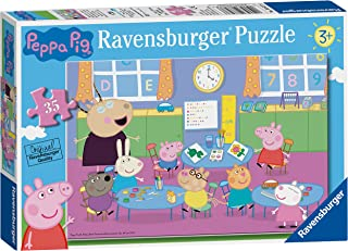 Ravensburger 08627 Puzzle Peppa Pig, Puzzle 35 Piezas, Rompecabezas para Niños y Niñas, Edad Recomandada 5+