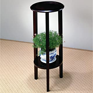 A Line Furniture Sedona Sleek Design Round Plant Stand/Side Table
