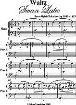 Waltz from Swan Lake Tchaikovsky Easy Piano Sheet Music