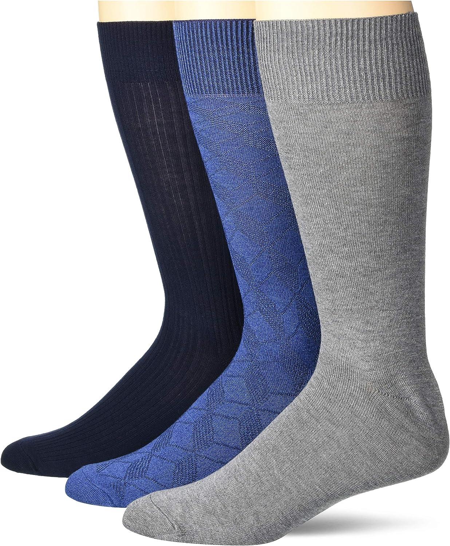 Perry Ellis mens Portfolio Stay Dry Comfort Socks
