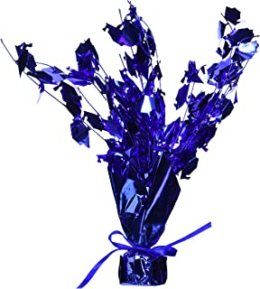 Graduation Cap Gleam 'N Burst Centerpiece (Blue) Party Accessory (1/pkg) Pkg/1