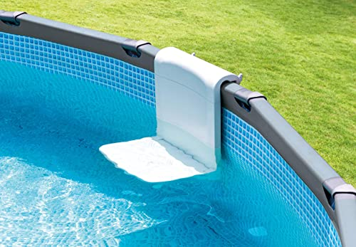 lowest Intex Pool Bench, Foldable Seat for outlet sale Above Ground sale Pools outlet sale