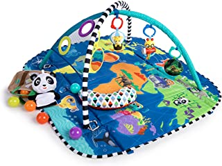 Baby Einstein 5-in-1 Journey of Discovery Activity Gym and Play Mat, Ages Newborn +