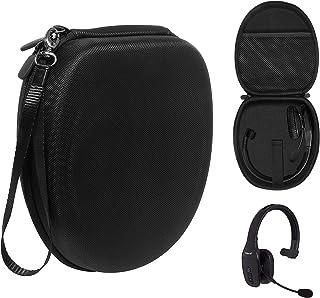 Headset Case for VXI BlueParrott B450-XT, B450-XT -204010-C, B350-XT, B250-XTS, C400-XT, Mesh Pocket for Cable, Amplifier ...