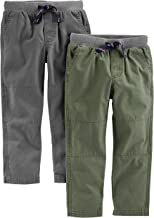 Simple Joys by Carter's Toddler Boys' 2-Pack Pull On Pant