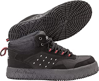Bullet Shoes Bullet Broomball Shoes, Black/Red, 10