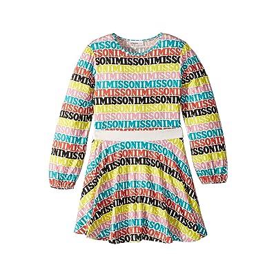 Missoni Kids Printed Logo Dress (Toddler/Little Kids) (Multi) Girl