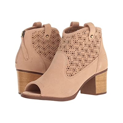 Dirty Laundry Trixie Peep Toe Bootie (Exclusive Tigers Eye) Women