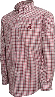 NCAA Men's Campus Specialties LS Small Check Shirt