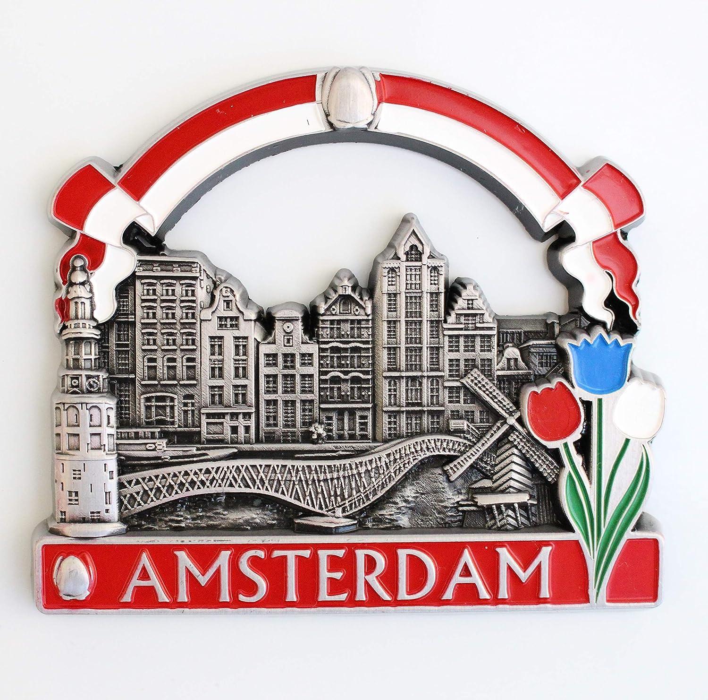 Holland Amsterdam Metal Fridge Magnet Home trend rank Kitchen Max 41% OFF Design Unique