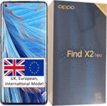OPPO Find X2 Neo (5G) CPH2009 Single-SIM 256GB + 12GB RAM Factory Unlocked Smartphone - International Version (Starry Blue)