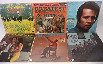 Herb Alpert & the Tijuana Brass Lot of 6 Vinyl Record Albums The Beat of the Brass and more