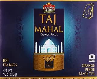 Brooke Bond, Taj Mahal Orange Pekoe Black Tea, 100 Tea Bags