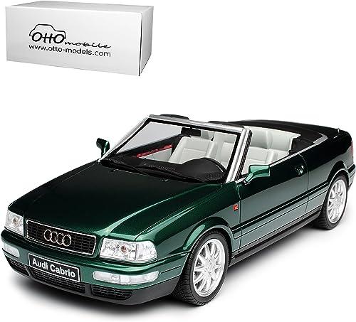 Audi 80 B4 2.8 Cabrio Grün 1991-1995 Nr 235 1 18 Otto Modell Auto mit individiuellem Wunschkennzeichen