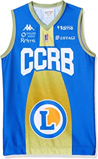 CCRB Reims trikot, officiell urvalsgrafik 2019-2020 basket barn XX-small blå