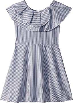 Lou Yarn-Dye Stripe Dress (Big Kids)
