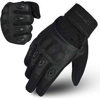 protettivi per mountain bike a dita intere da equitazione 1/paio di guanti da moto estivi