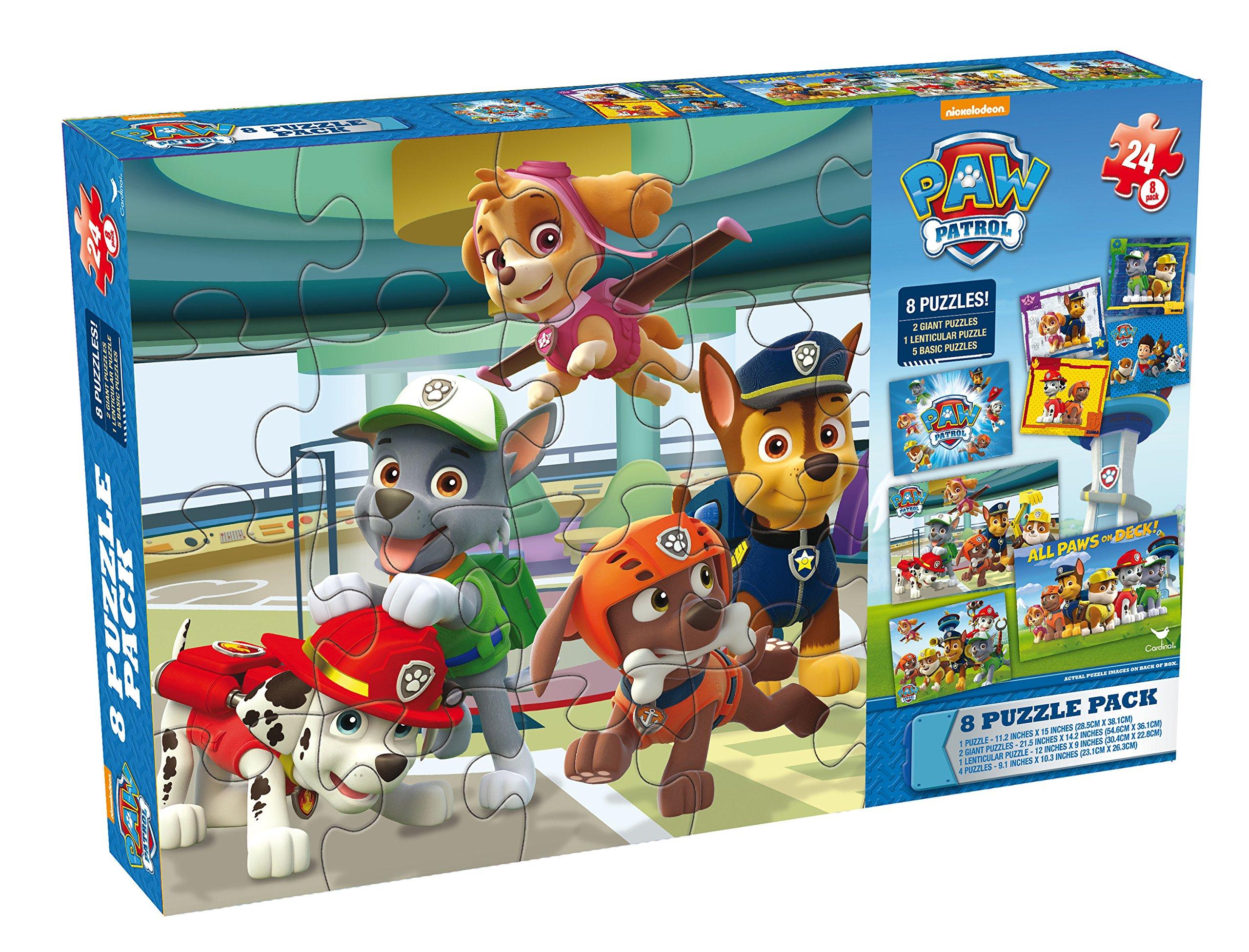 Paw Patrol Puzzles in Cardboard Box (8-Pack): Amazon.es: Juguetes y juegos