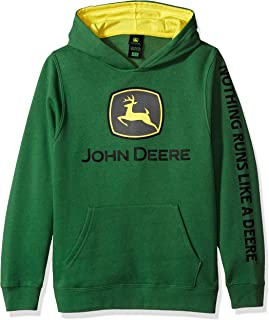 John Deere Big Boys' Fleece Hoody Pull Over