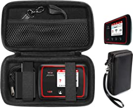 کیف محافظ CaseSack برای Verizon MiFi 6620L ، Jetpack 4G LTE Mobile Hotspot ، روتر مسافرتی بی سیم قابل حمل TP-Link AC750 ، جیب مش برای کابل و سایر لوازم جانبی ، بند مچ قابل جدا شدن