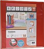 Elba, Presentation A4 Lever Arch Files, Red, Plastic, 1 Folder