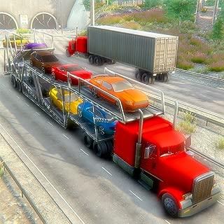 Heavy Trailer Car Transporter Simulator: Transport Furious & Sports Racing Cars