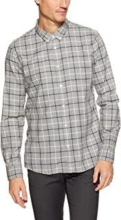 French Connection Men's Multi Grid Reg Fit Shirt