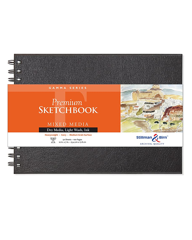 Stillman & Birn Gamma Series Wirebound Sketchbook, 10