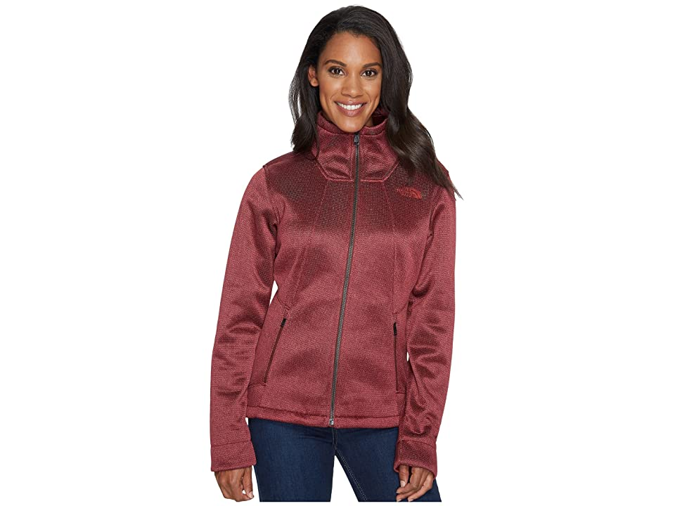 The North Face Apex Chromium Thermal Jacket (Sequoia Red Herringbone) Women