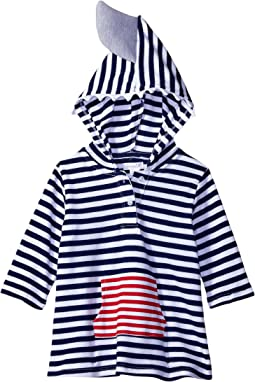 Mud Pie - Shark Hooded Cover-Up (Infant/Toddler)
