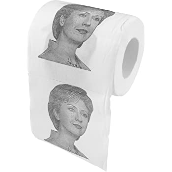Fairly Odd Novelties Hillary Clinton Novelty Toilet Paper