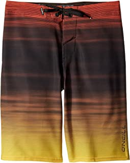 O'Neill Kids - Sneakyfreak Mysto Superfreak Boardshorts (Big Kids)
