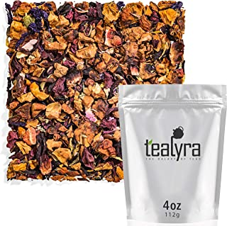 Tealyra - Red Berries Compote - Hibiscus - Beetroot - Lemon Verbena - Strawberry - Herbal Fruity Loose Leaf Tea - Vitamins Rich - Boost Immune - 100% Natural - Caffeine-Free - 112g (4-ounce)