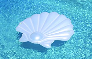 Swimline Seashell Island Extra Large Swimming Pool Float